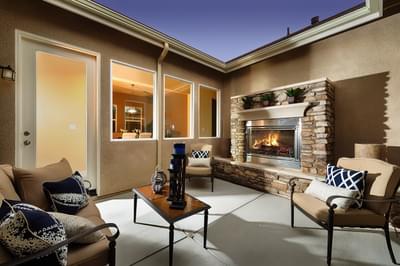De Young Properties Home Gallery - Outdoor Courtyards