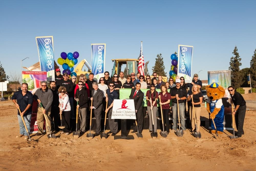 DeYoung Breaks Ground On Their Ninth St. Jude Dream Home™