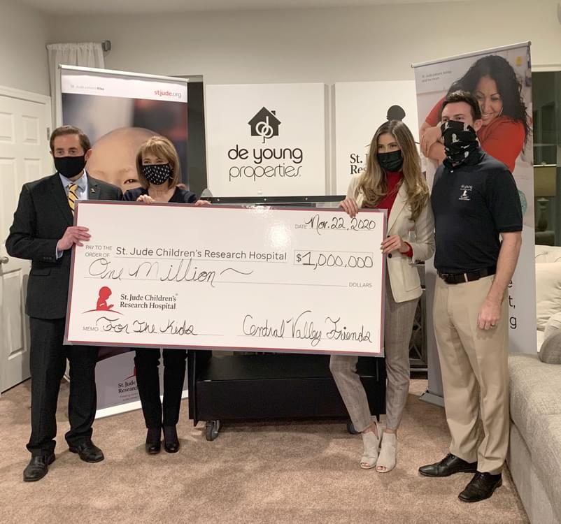 DeYoung Properties Thanks Business Affiliates and Community for St. Jude Dream Home® Giveaway Ticket Sell Out