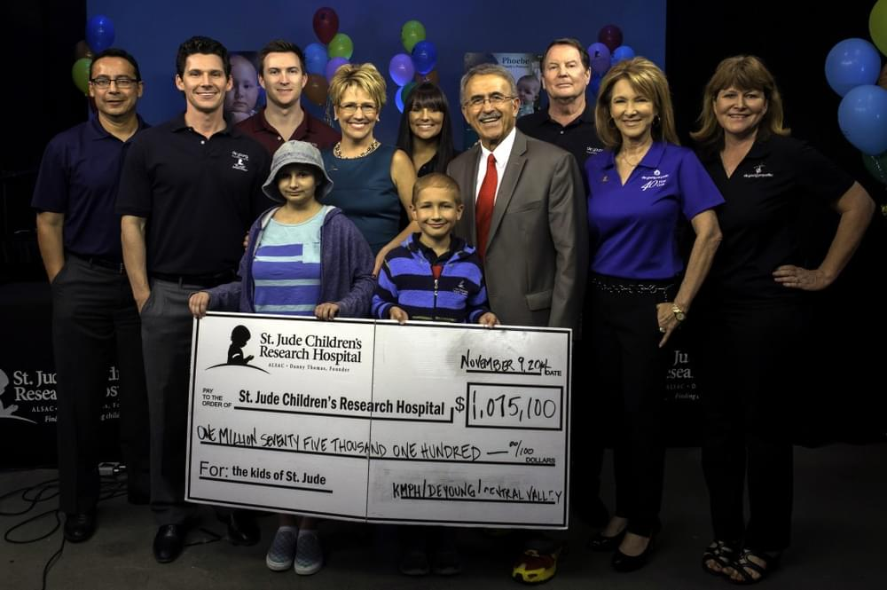 DeYoung Properties Thanks Community For Once Again Raising Over $1 Million For 2014 St. Jude Children's Research Hospital!