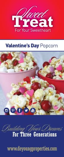 A Valentine's Day Popcorn Recipe From DeYoung!