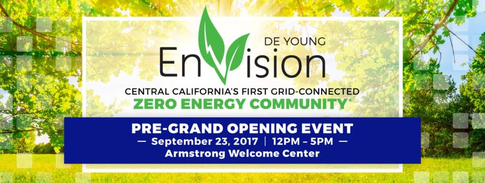 Join us TOMORROW for the DeYoung EnVision Pre-Grand Opening Event!