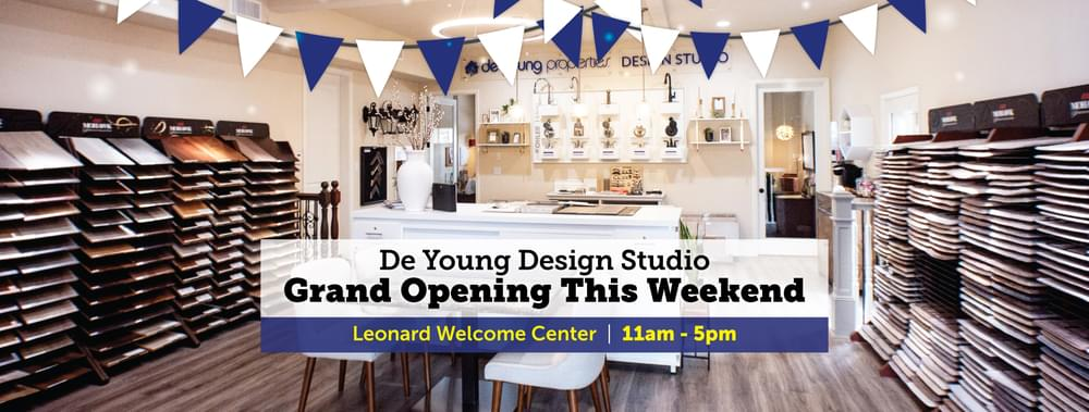 Tour The New, Exclusive DeYoung Design Studio At The Grand Opening Event This Weekend