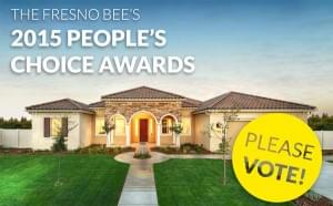 DeYoung Properties Would Appreciate Your Vote As The Fresno Bee 2014 People's Choice Best New Home Builder!