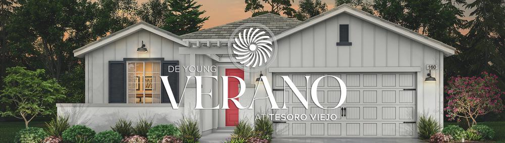 Join us THIS Saturday, June 26, for the Virtual Pre-Grand Opening of the NEXT phase of homesites at De Young Verano at Tesoro Viejo!